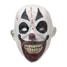 Picture of Evil Smile Clown Latex Mask