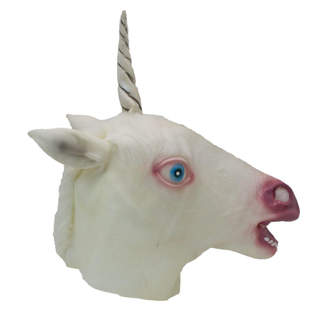 Picture of White Unicorn Mask
