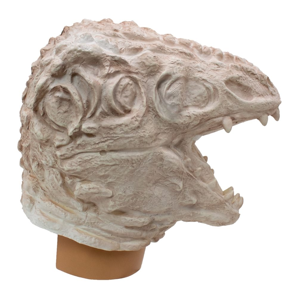 Picture of Skeleton Lizard Latex Mask