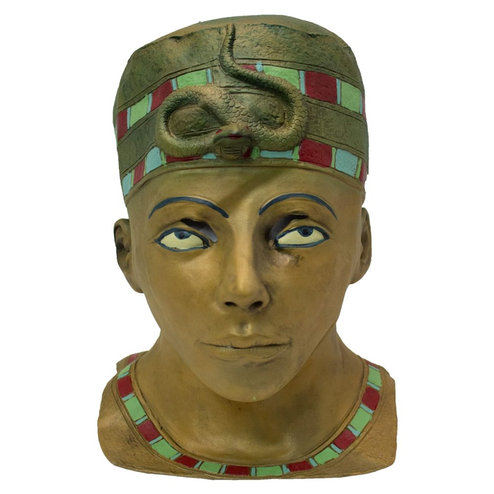 Picture of Egyptian Pharaoh King Latex Mask