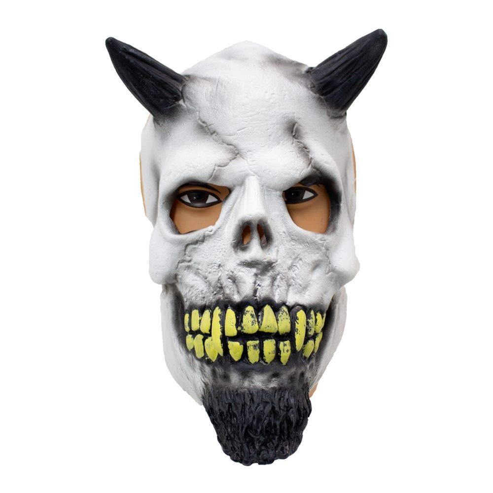 Picture of Demon Skull Latex Mask
