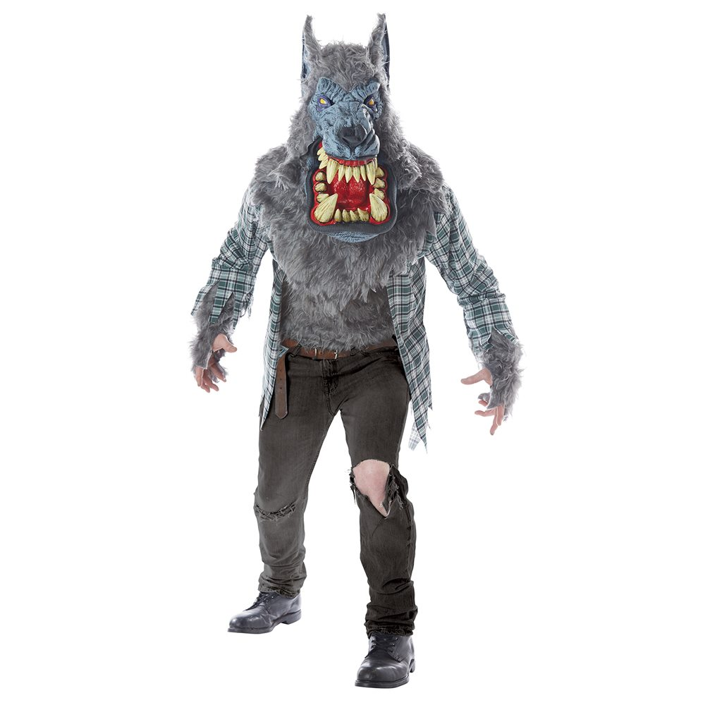 Picture of Monster Wolf Adult Mens Costume