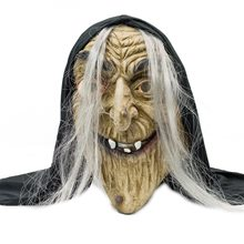 Picture of Old Woman Witch Latex Mask