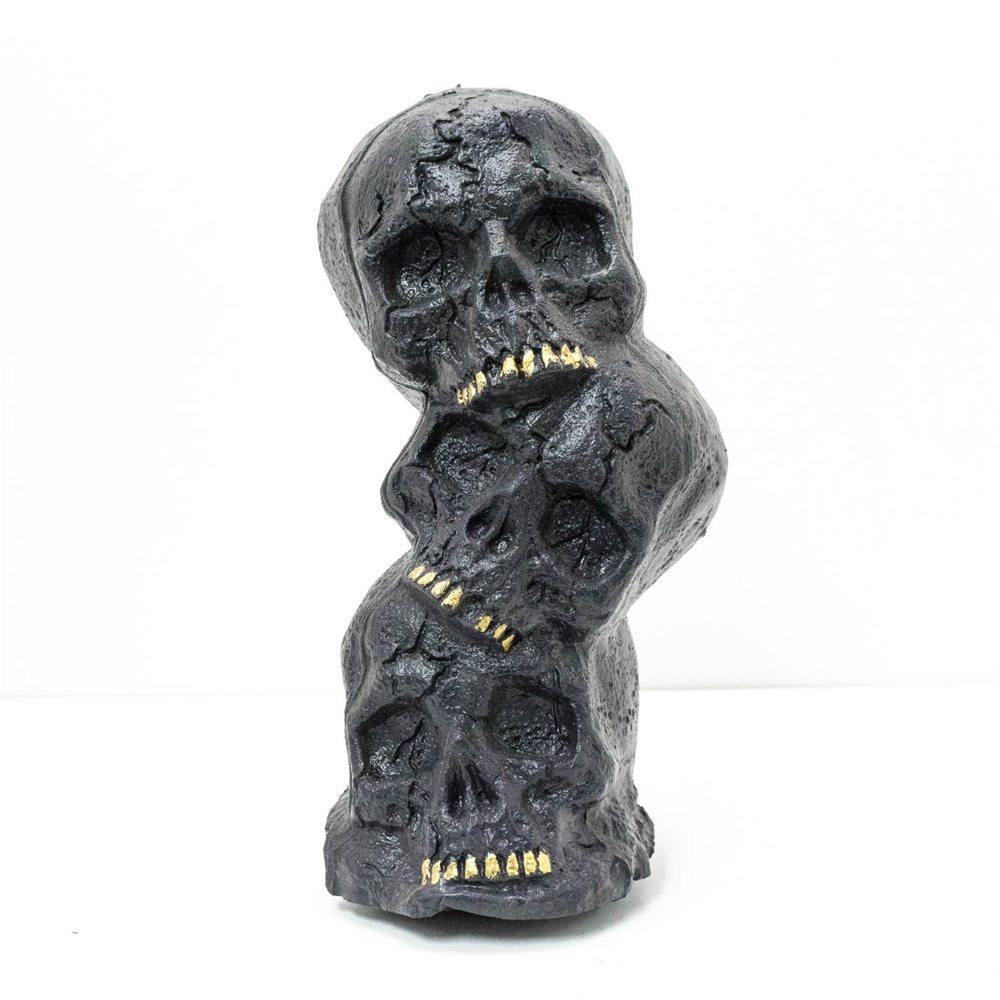 Picture of Black Skull Pile