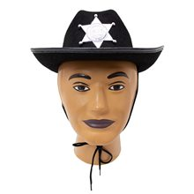 Picture of Black Sheriff Child Hat