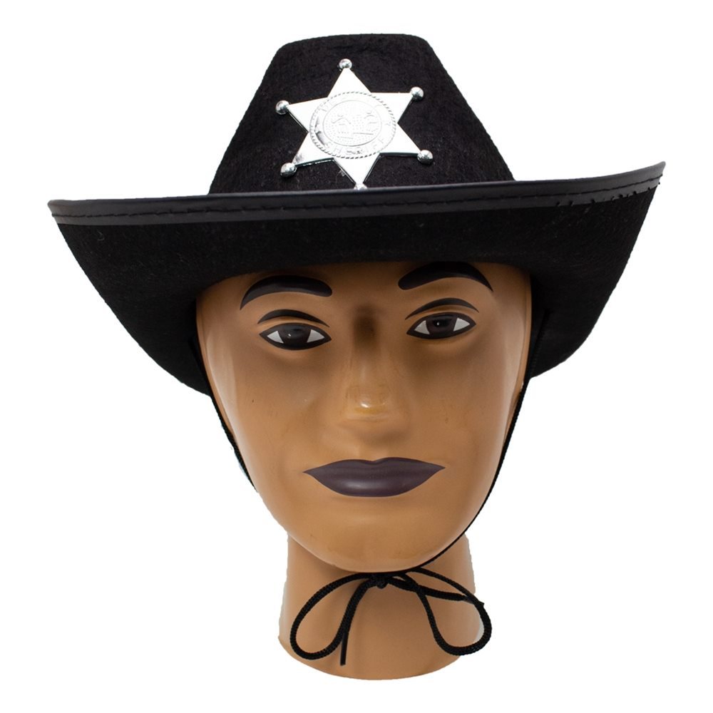 Picture of Black Sheriff Hat
