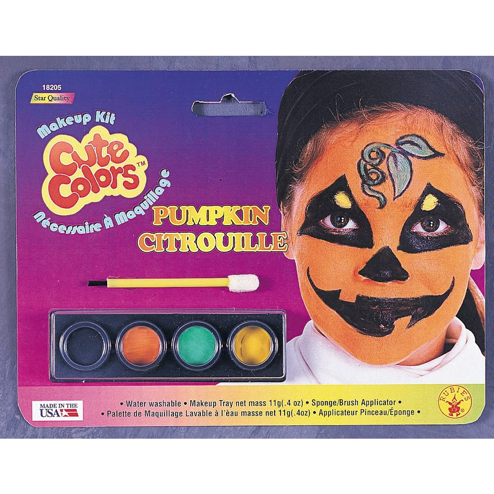 Picture of Pumpkin Child Makeup Kit