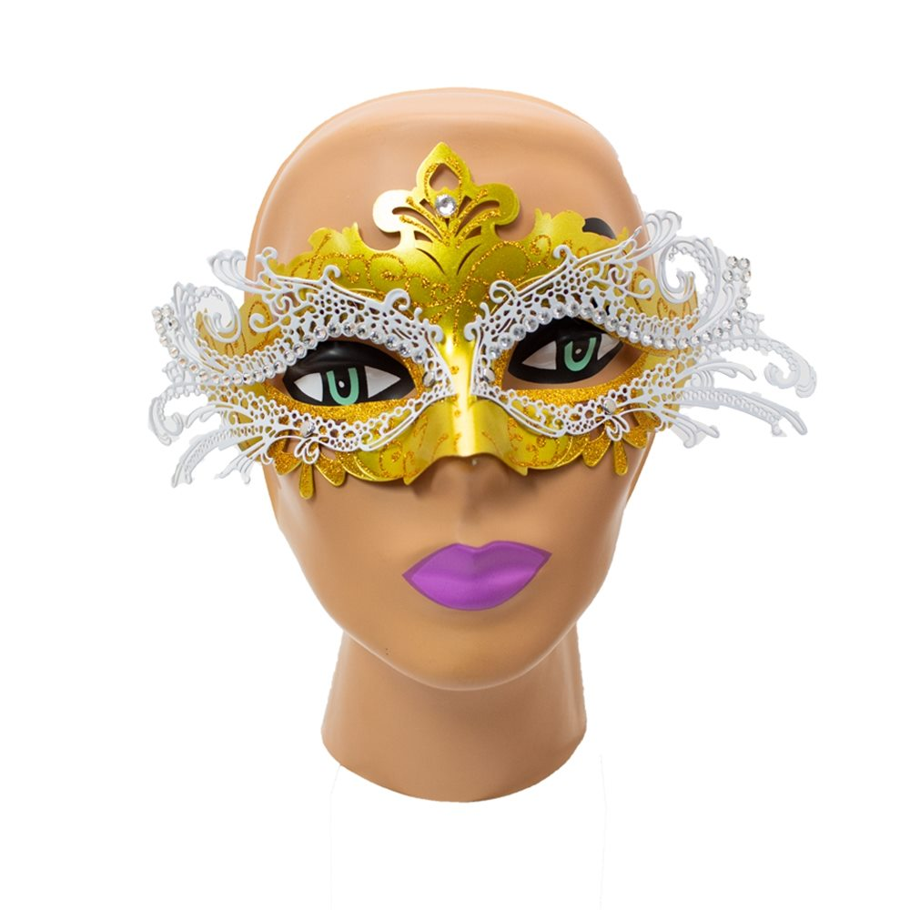 Picture of Gold Goth Masquerade Mask