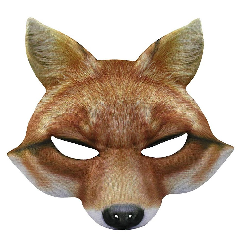 Picture of Fox Printed Mask