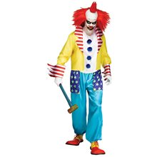 Picture of Wicked Clown Master Adult Mens Costume